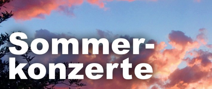 Openair Sommerkonzerte MV Buckten