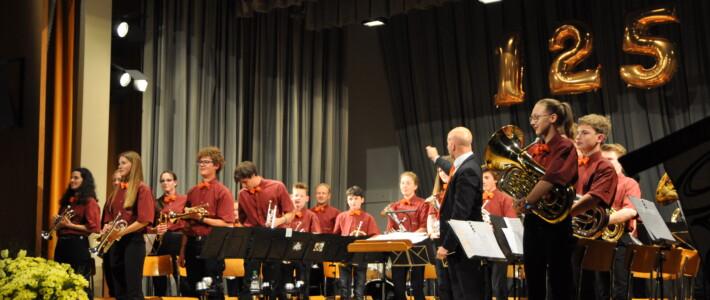 Auftritt am 125-Jahre Jubiläum der MG Eintracht Wisen