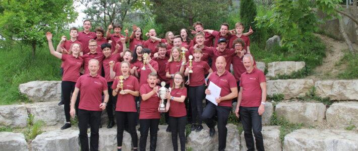 1. Platz am Jugendblasmusikpreis in Laufen
